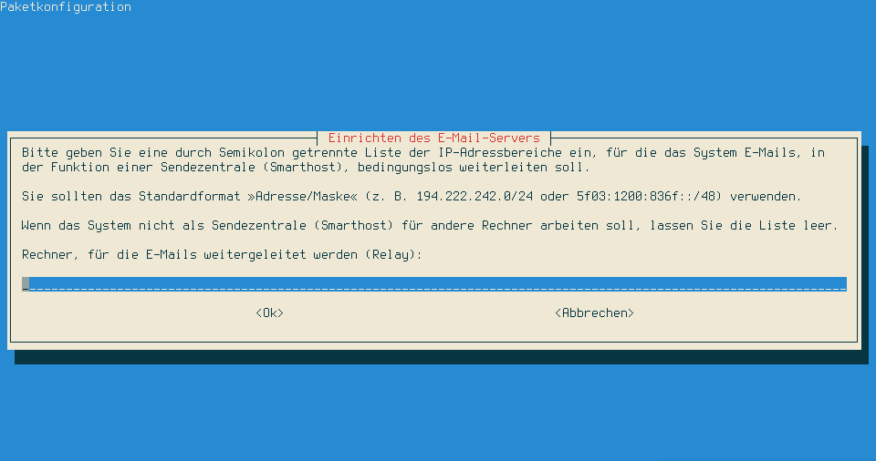 Nur Versenden Mailserver Mit Debian Und Exim Gambaru De