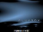 Fluxbox und Wbar